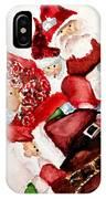 Santas IPhone X Case