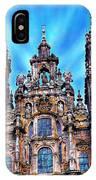 Santiago De Compostela Cathedral IPhone Case