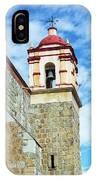 Santo Domingo Church Spire IPhone Case