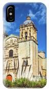 Santo Domingo Church View IPhone Case