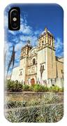 Santo Domingo Church Wide Angle IPhone Case