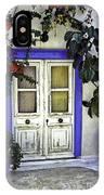 Santorini Doorway 1 IPhone Case