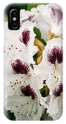 Sappho Rhododendron IPhone Case