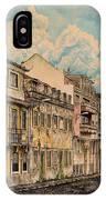 Saudade/ The Swallows Of Lisbon IPhone Case