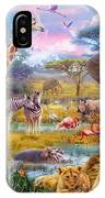 Savannah Animals IPhone Case