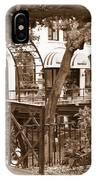 Savannah Arches In Sepia IPhone Case