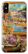 Savannah Coming To Life IPhone Case