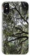 Savannah Green Leaves IPhone Case