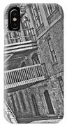 Savannah River Walk Stories Black And White IPhone Case