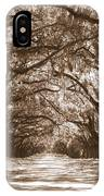 Savannah Sepia - Glorious Oaks IPhone Case