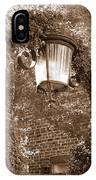 Savannah Sepia - Lovely Lamp IPhone Case