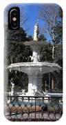 Savannah Square Fountain IPhone Case