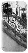 Savannah Stoops - Black And White IPhone Case