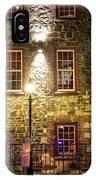 Savannah's Historic River Street IPhone Case