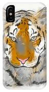 Save The Tiger IPhone Case