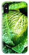 Savoy Cabbage IPhone Case