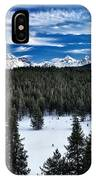 Sawtooth Winter IPhone Case