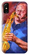 Sax Player  IPhone Case
