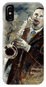 Saxplayer 570120 IPhone Case