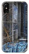 Scaffolding In The City IPhone Case