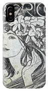 scan 153 Alphonse Maria Mucha IPhone Case