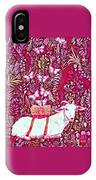Scapegoat Healing In Fuchsia IPhone Case