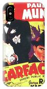 Scarface 1932 French Revival Unknown Date IPhone Case
