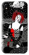 Scarlet Checkers IPhone Case