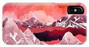 Scarlet Glow IPhone Case