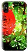 Scarlet Raindrops IPhone Case
