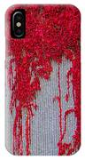Scarlet Squiggle IPhone Case