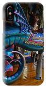 Scary Merry Go Round Boston Common Carousel IPhone Case