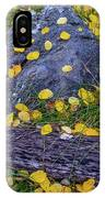 Scattered Aspen Leaves IPhone Case