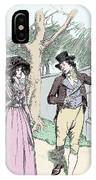 Scene From Sense And Sensibility By Jane Austen IPhone Case