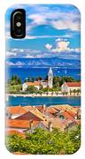 Scenic Island Of Vis Waterfront IPhone Case