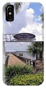 Scenic Melbourne Beach Pier  Florida IPhone Case