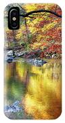 Scenic New Jersey Fall Fly Fishing  IPhone Case