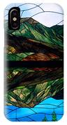 Scenic Stained Glass  IPhone Case