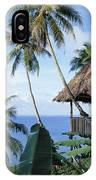 Scenic Thatched Hut IPhone Case
