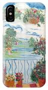 Scenic View From The Terrace IPhone Case