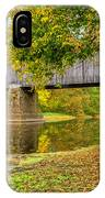 Schofield Bridge Over The Neshaminy IPhone Case