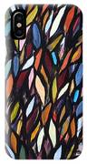 School Of Anchovies Abstract 2 IPhone Case