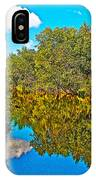Schroon River Reflection In The Adirondacks-new York IPhone Case