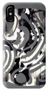 Scissor-cut Abstraction IPhone Case