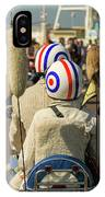 Scooter Mods And Helmets IPhone Case