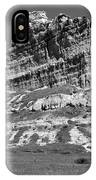 Scots Bluff Black And White IPhone Case