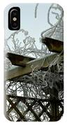 Scottish Hoar Frost IPhone Case