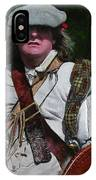 Scottish Soldier Of The Sealed Knot At The Ruthin Seige Re-enactment IPhone Case