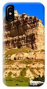 Scotts Bluff National Monument Panorama IPhone Case