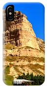Scotts Bluff National Panoramic Landscape IPhone Case